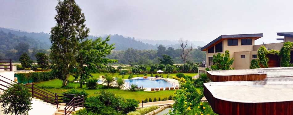 list of top luxury resorts in jim corbett national park
