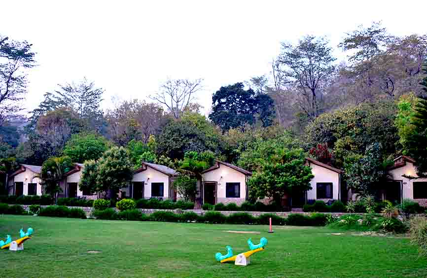 forest resorts in Jim Corbett National Park