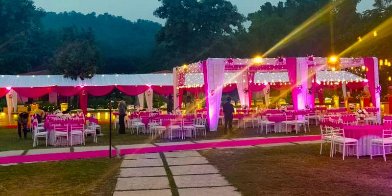 Corbett Destination wedding