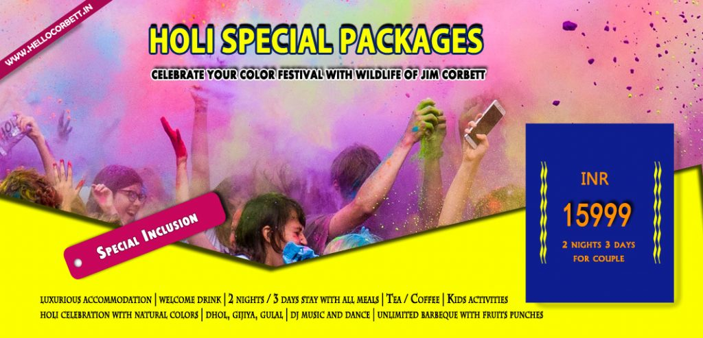 corbett holi special packages