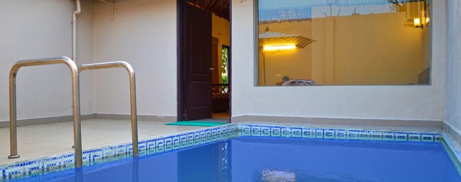 corbett rooms with private pool