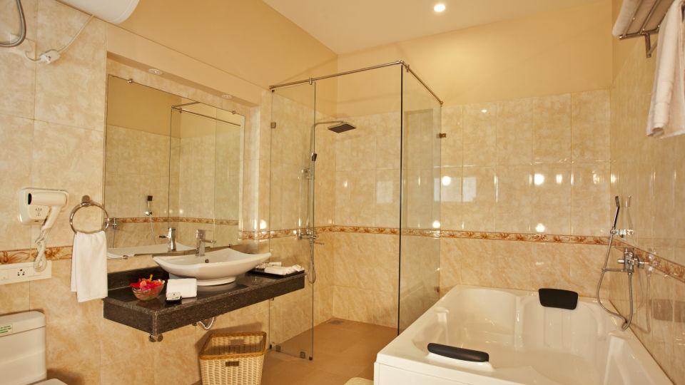 Premium Cottage Washroom de-coracao