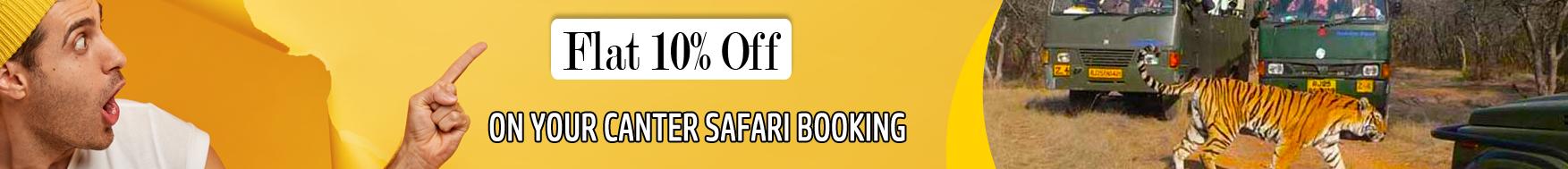Corbett Canter Safari Booking - Book Dhikala canter safari at cheapest price